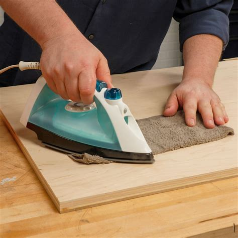 How To Take Dness Out Of A Room by How To Remove Dents In Wood The Family Handyman