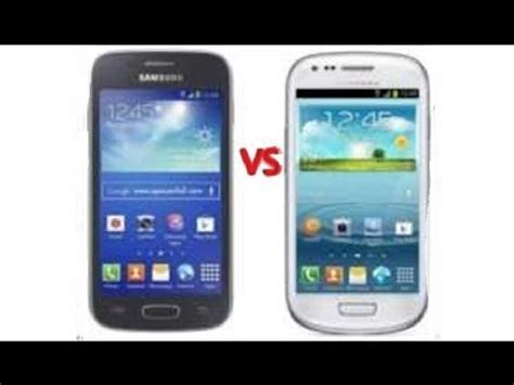 Galaxy Ace 3 Mini Samsung Galaxy S3 Mini Vs Samsumg Galaxy Ace 3 Espa 241 Ol Hd