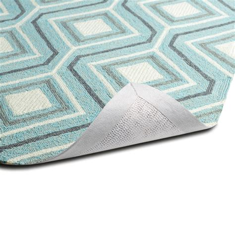 geo rug escape geo rug in blue rosenberryrooms