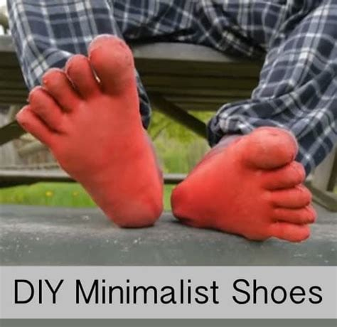 diy running shoes diy minimalist running climbing shoes homestead survival
