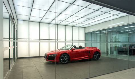 audi of central houston daylighting and back lighting panelite