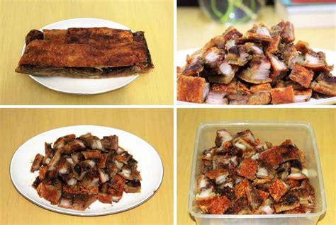 Babi Panggang Bangka Bapang Sau Cu Sau Cu Nyuk 2 1 4 Kg Merk Hauce 1 jual babi panggang hauce bapang sau cu nyuk asli