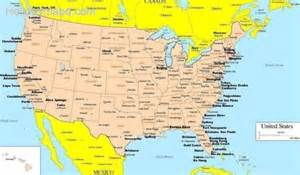 map usa and canada with cities map of canada and us map travel holidaymapq