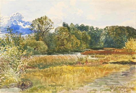 Landscape Portrait Definition File Stanisław łowski 1853 1926 Autumn Landscape In