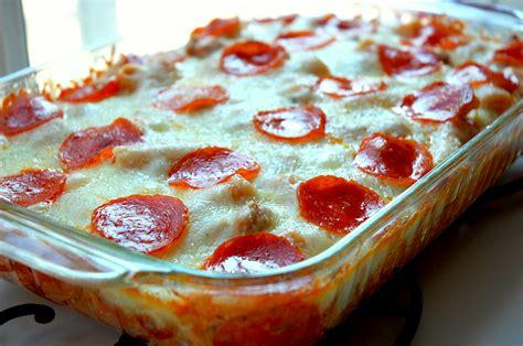 pizza casserole recipe dishmaps
