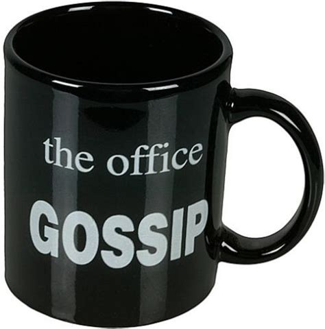 office mugs the office gossip mug funny novelty tea coffee cup buy online