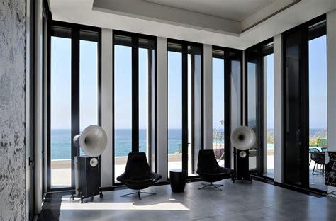 futuristic modern beach house called fidar  lebanon