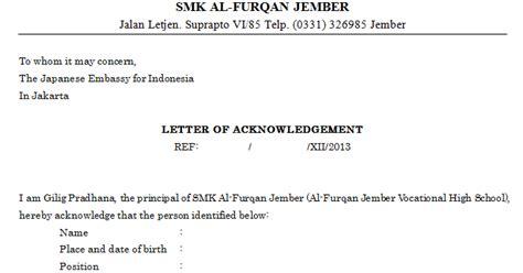 contoh surat rekomendasi berbahasa inggris file