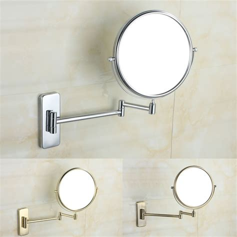 bathroom folding bathroom makeup mirror retractable