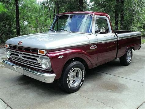 1966 ford f100 the paint on this one classic paint scheme with custom colors motors