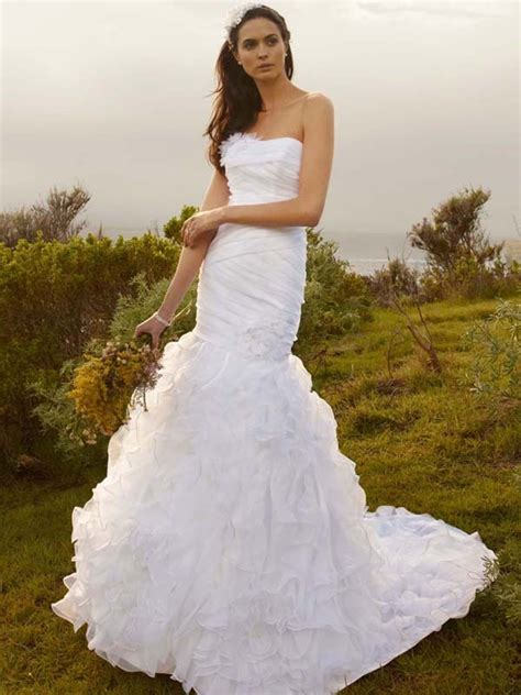 wedding dress fall 2012 davids bridal wedding gown wg3422