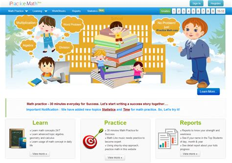 tutorial website for math learning never stops 56 great math websites for students