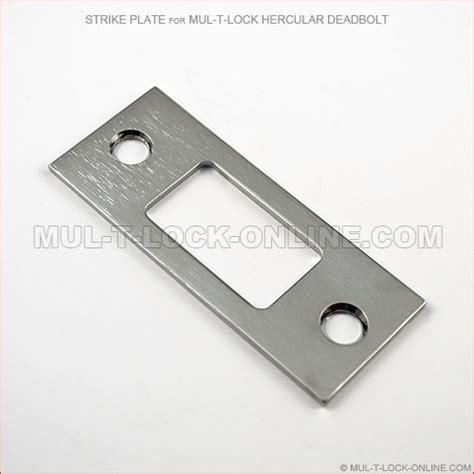 Accessories Tools Pla Plate 2mm mul t lock strike plate for mul t lock hercular