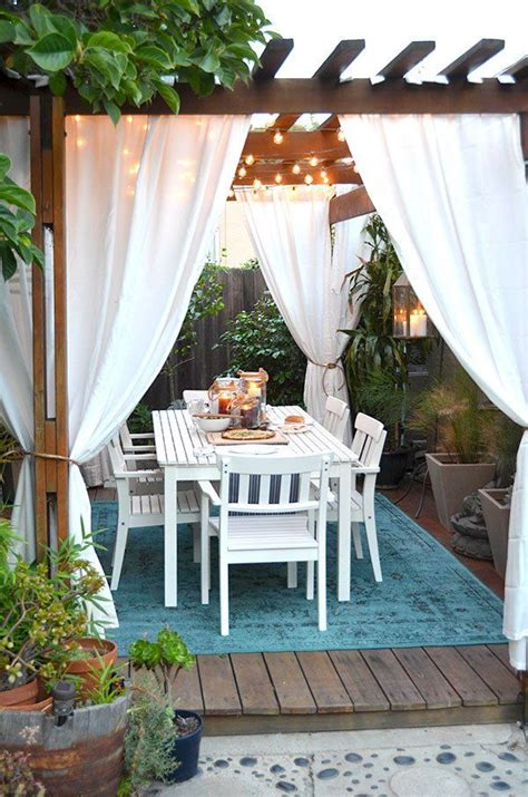 Pergola With Curtains Omg We Bought A House Episode 12 Anniversary Al Fresco Outdoor Pergola Outdoor Curtains