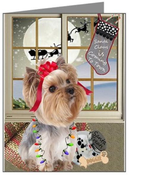 gifts for yorkie yorkie terrier cards ornaments