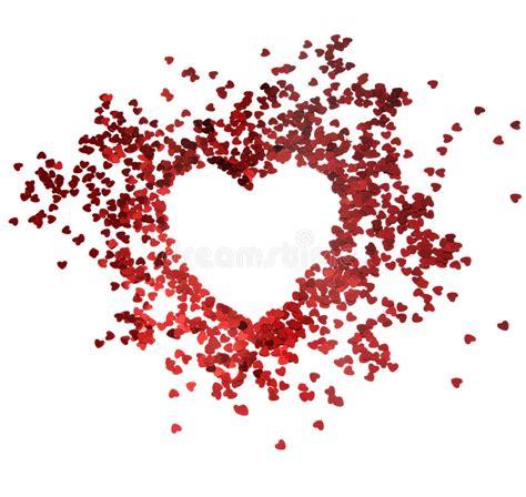 glitter valentine wallpaper red hearts glitter frame with white background valentine