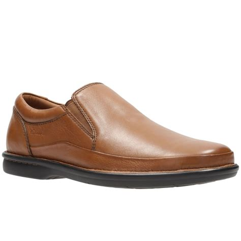 clarks butleigh free mens wide casual slip on shoes