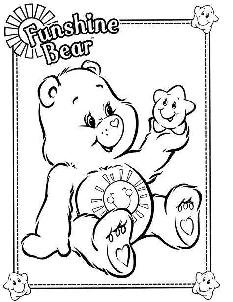 care bear coloring pages pdf care bears 27 coloringcolor com