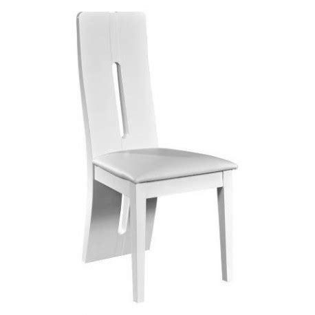 Chaise De Cuisine Blanche 1319 by Floyd High Gloss Luxury Dining Chair Chairs 1319