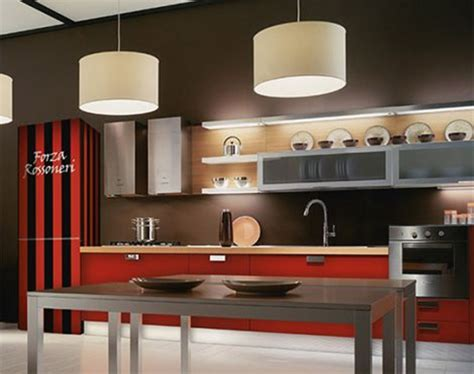 deco kitchen ideas space couleur marron et creme