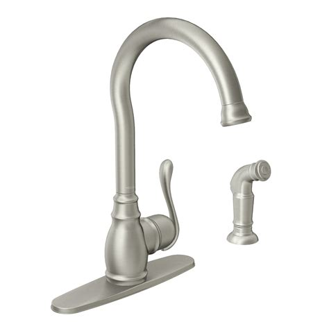 kitchen faucet loose moen annabelle faucet handle loose