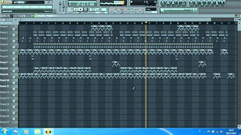 tutorial fl studio demo making a beat every day fl studio 10 demo youtube