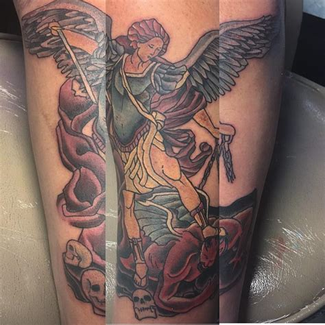 tattoo brief history 95 best saint michael tattoos designs meanings 2018