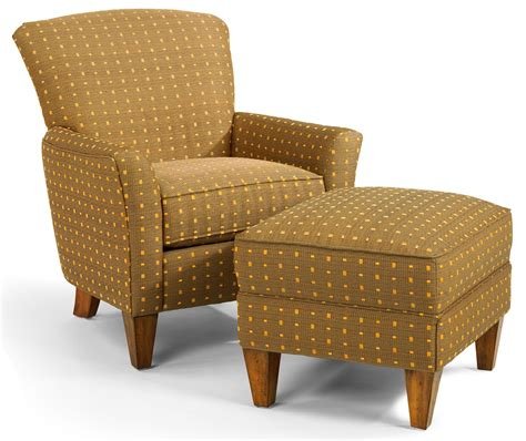 cheap accent chairs with ottomans flexsteel accents dancer chair ottoman set wayside
