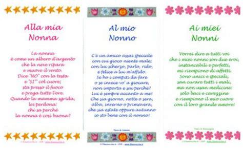 lettere per i nonni festa dei nonni poesie filastrocche lavoretti