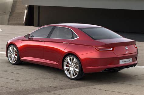 be seat iaa 2011 seat s sharp looking ibl concept sedan updated