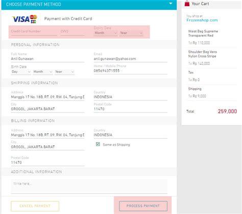 sistem pembayaran bisnis online dengan kartu kredit sistem pembayaran