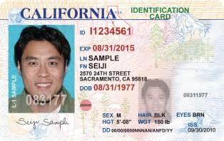california drivers license template new california drivers license idscanner