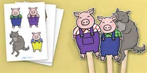 the three pigs puppet templates best photos of three pigs puppet templates three