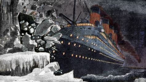what year did the titanic sink why did the titanic sink
