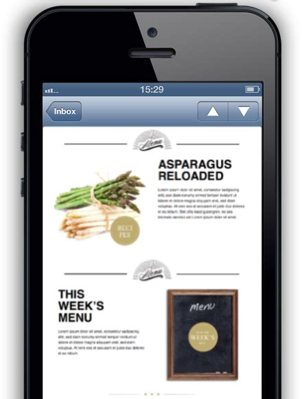responsive layout iphone only 11 of newsletters feature responsive mobile layouts