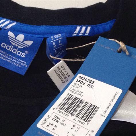 Baju Kaos T Shirt Original Adidas jual adidas originals 3foil hitam size l baju kaos