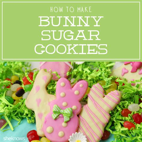 How To Decorate Sugar Cookies Like A Pro by These Beautiful Bunny Sugar Cookies Are Just What Your