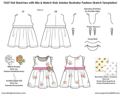 template for children clothing presentation 80 best images