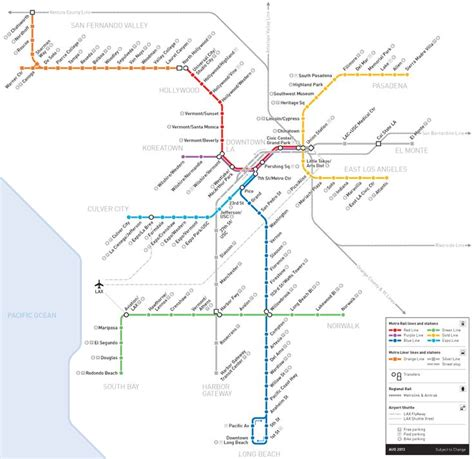 los angeles subway map 17 best images about maps los angeles on electric graphics and master plan