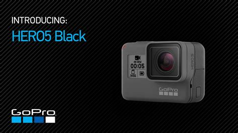 Gopro Hero5 Black gopro introducing hero5 black