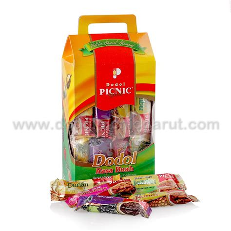 Nabati Ahh Netto 20 X 5 5 Gr dodol picnic special gift sachet by shoppinggarut