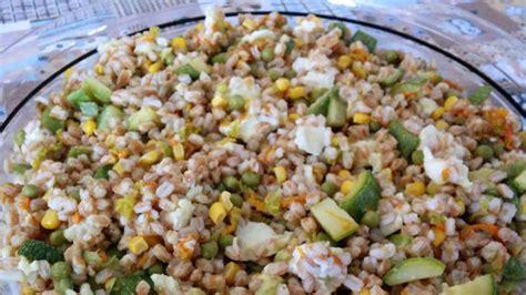 come cucinare le zucchine con il bimby insalata di farro e zucchine ricette bimby