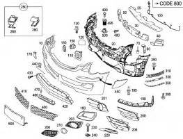 Mercedes South Atlanta Parts Mercedes 2518851325 Bumper Cover Front