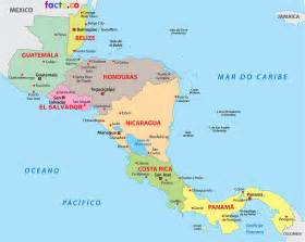 Cenral America Map by Pics Photos Map Of Honduras Central America