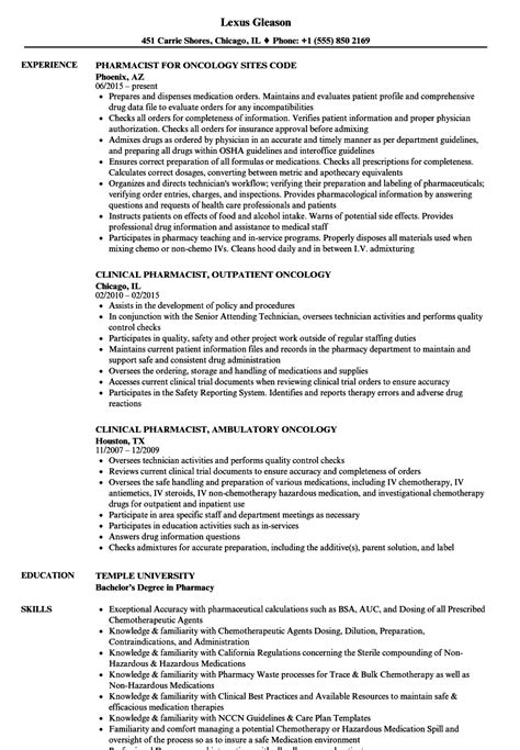 15 pharmacist resume examples free sample resumes