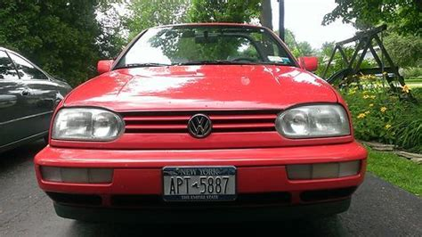 airbag deployment 1996 volkswagen cabriolet auto manual buy used 1996 volkswagen cabrio base convertible 2 door 2 0l in bemus point new york united