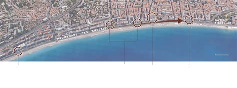 500 ft to miles the mile long site where a truck hit hundreds in nice