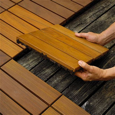 Banister Repair 10 Easy To Install Decking Tiles