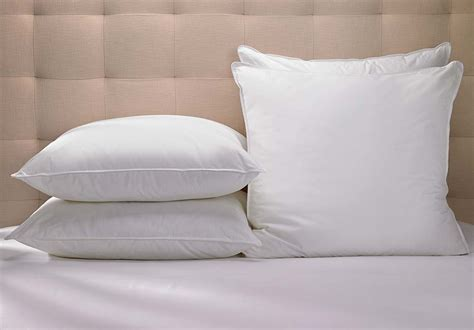 pillows for bed buy luxury hotel bedding from marriott hotels euro pillow
