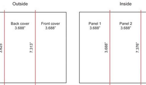 graphic design layout paper sizes bleeds margins and final trim